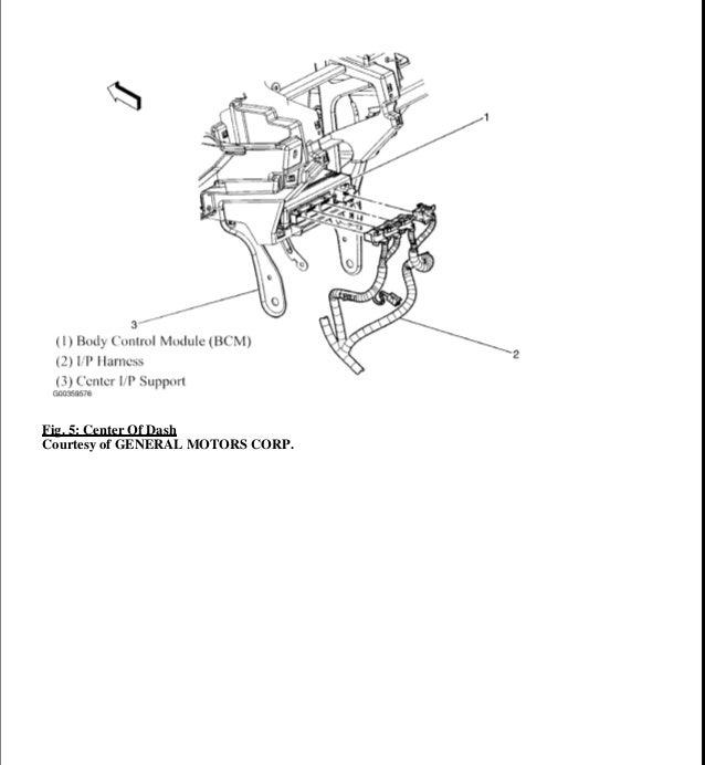2009 PONTIAC TORRENT Service Repair Manual