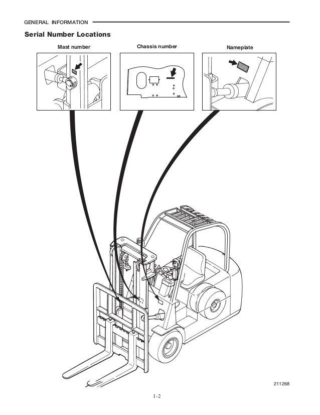 caterpillar cat ep18nt forklift lift truck service repair