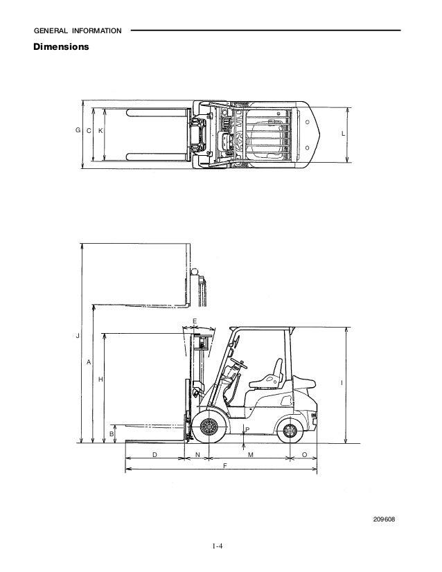 Caterpillar Cat GC25N Forklift Lift Trucks Service Repair