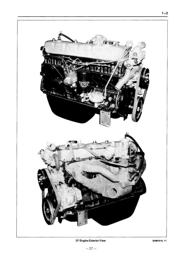 Toyota 5FG35 Forklift Service Repair Manual