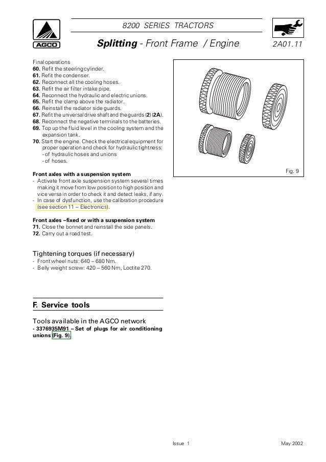 massey ferguson 270 service manual