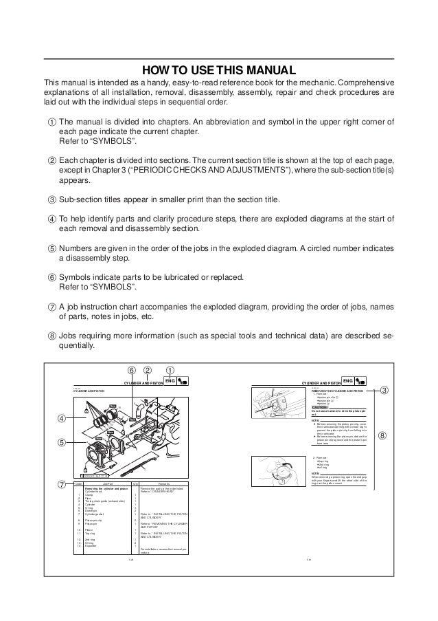 2008 yamaha vino 125 service repair manual  note w cc q; 4