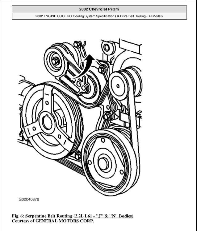2000 Chevrolet Prizm Service Repair Manual