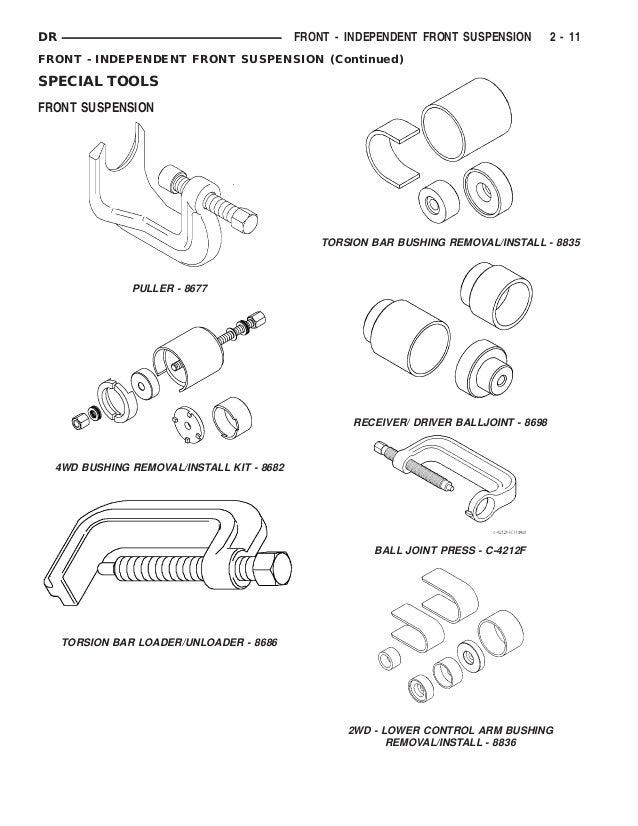 Dodge Ram Parts Diagram Service Manual