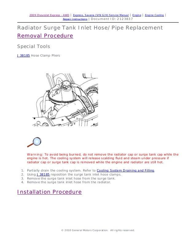 repair manual gmc savana download