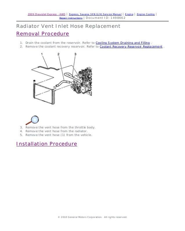 2007 gmc savana service repair manual rh slideshare net