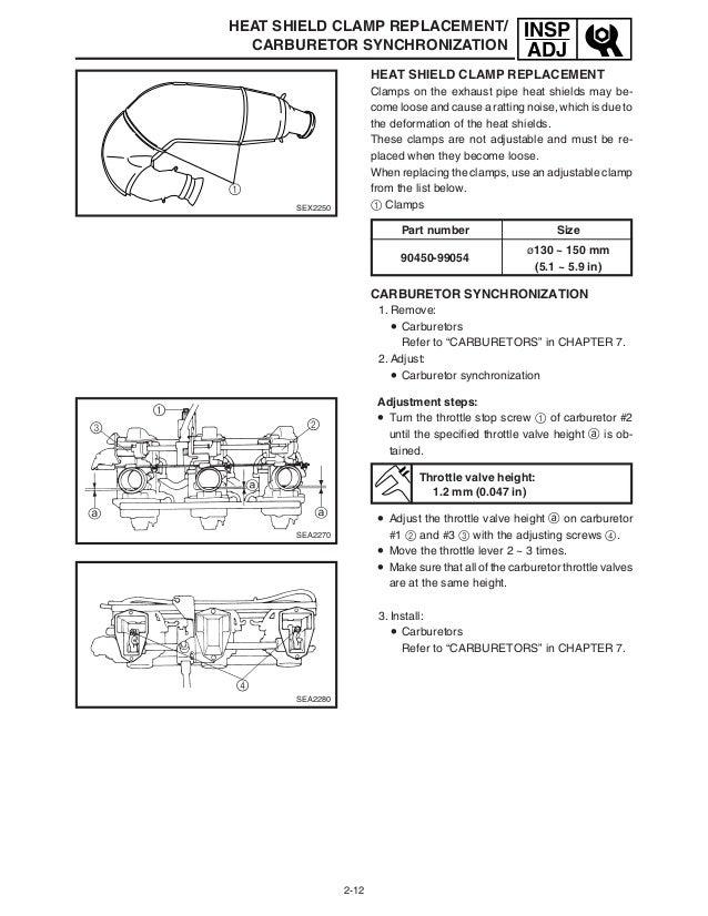 2006 Yamaha SXV60L SX Venom SNOWMOBILE Service Repair Manual