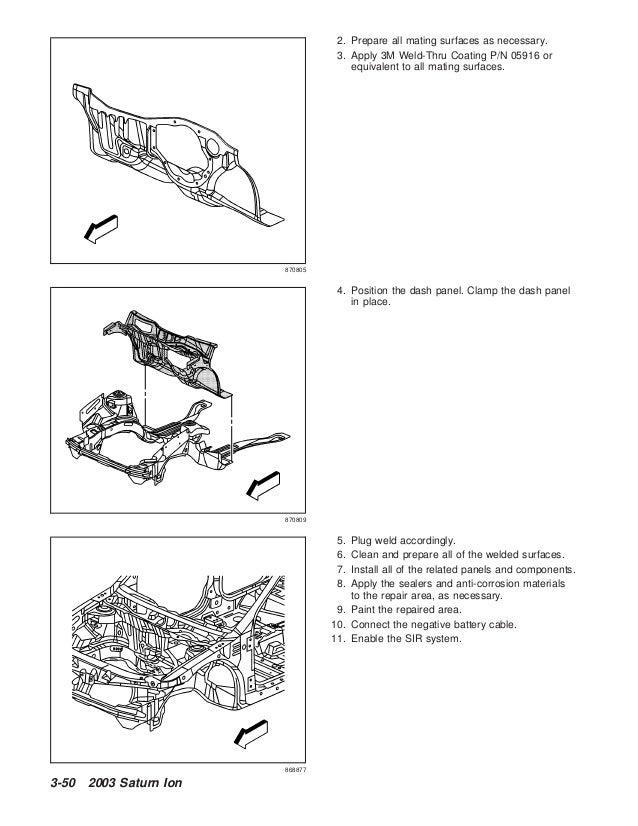 2002 SATURN ION Service Repair Manual