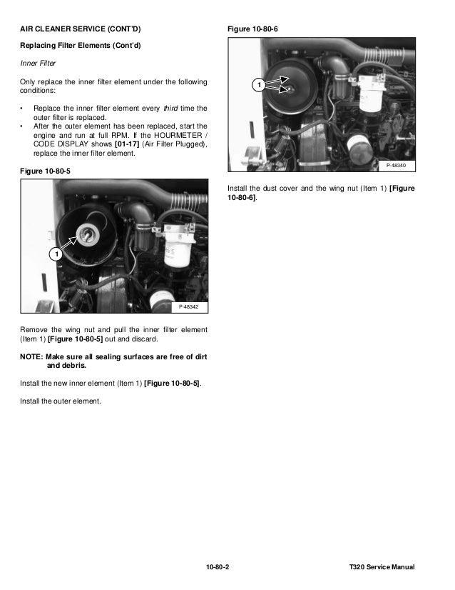 BOBCAT T320 COMPACT TRACK LOADER Service Repair Manual S/N