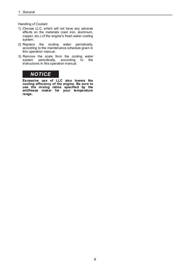 Yanmar 6LY3-UTP Marine Diesel Engine Service Repair Manual