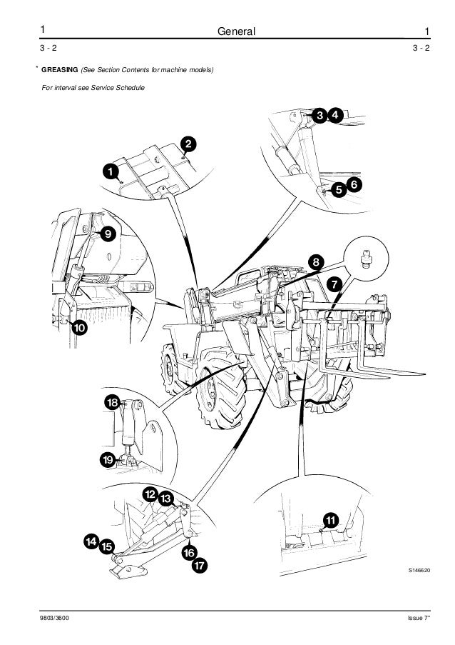 jcb 444 parts manual Jcb B Wiring Diagram on