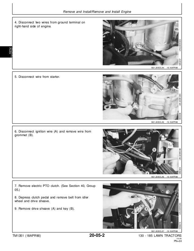 john deere 160 mower manual
