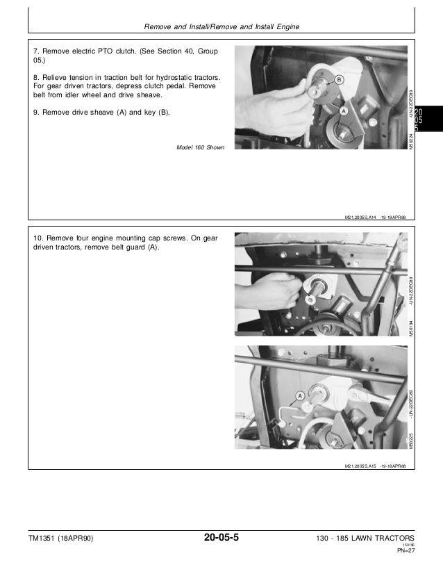 John Deere 165 Lawn Garden Tractor Service Repair Manual. John Deere. John Deere 185 Schematic Electric At Scoala.co