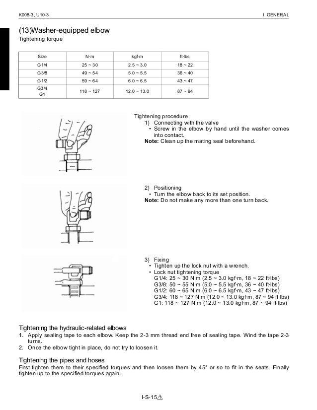 kubota k008 3 service manual