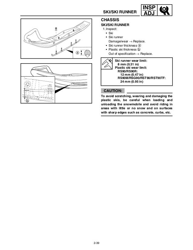 2007 YAMAHA RSG90 SNOWMOBILE Service Repair Manual
