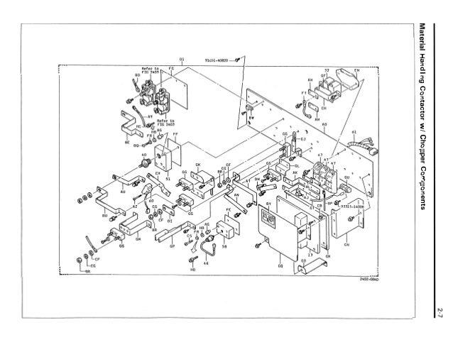 Toyota 30-5FBCU20 Forklift Service Repair Manual