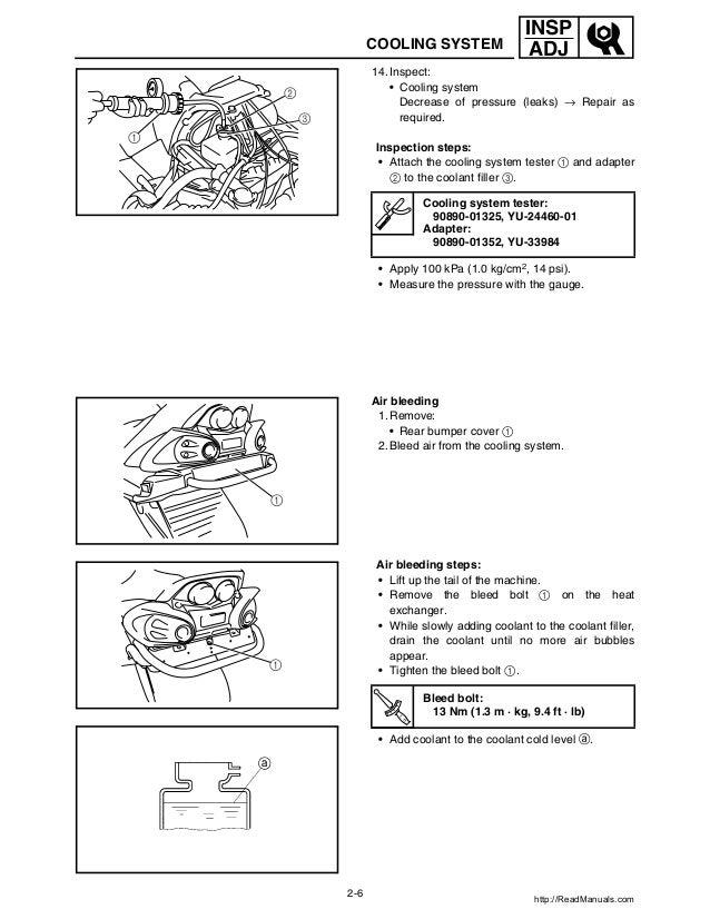 yamaha rs venture service manual