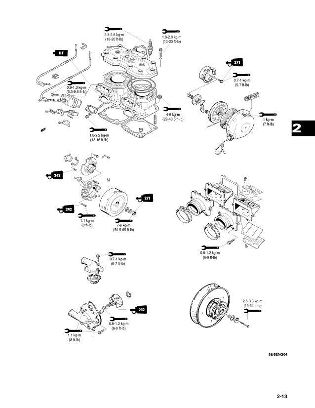 2004 Arctic Cat Z 570 Snowmobile Service Repair Manual