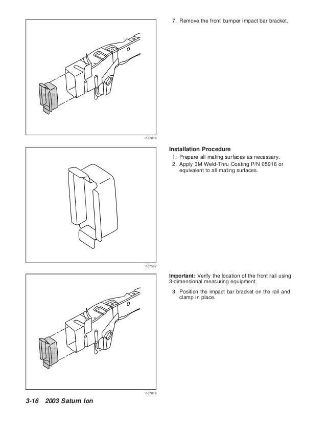2003 SATURN ION Service Repair Manual