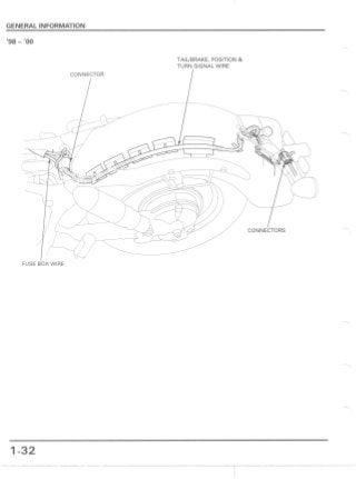 1999 Honda VT1100C3 Shadow Aero Service Repair Manual