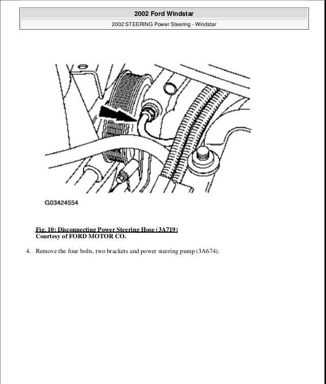 1999 FORD WINDSTAR Service Repair Manual