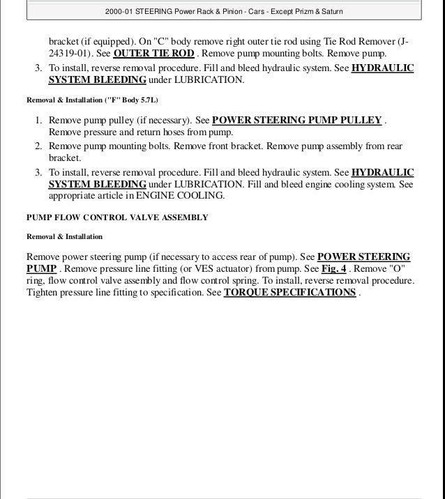 1996 Chevrolet Lumina Service Repair Manual
