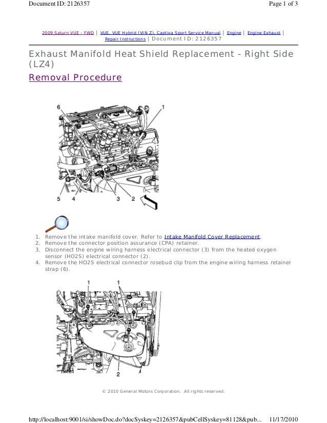 2010 saturn vue service repair manual rh slideshare net 2013 Saturn Vue 2017 Saturn Vue