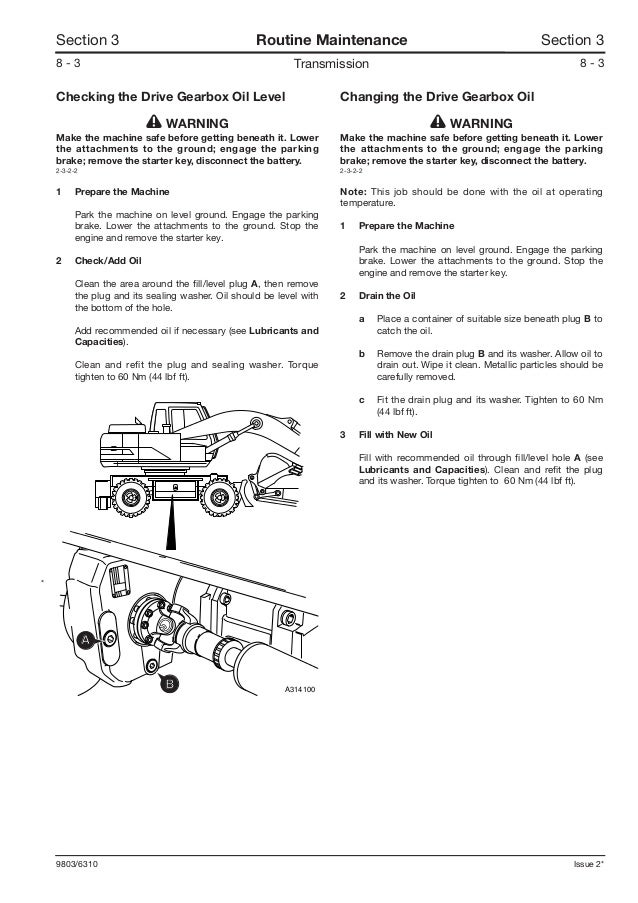 JCB JS160W WHEELED EXCAVATOR Service Repair Manual SN
