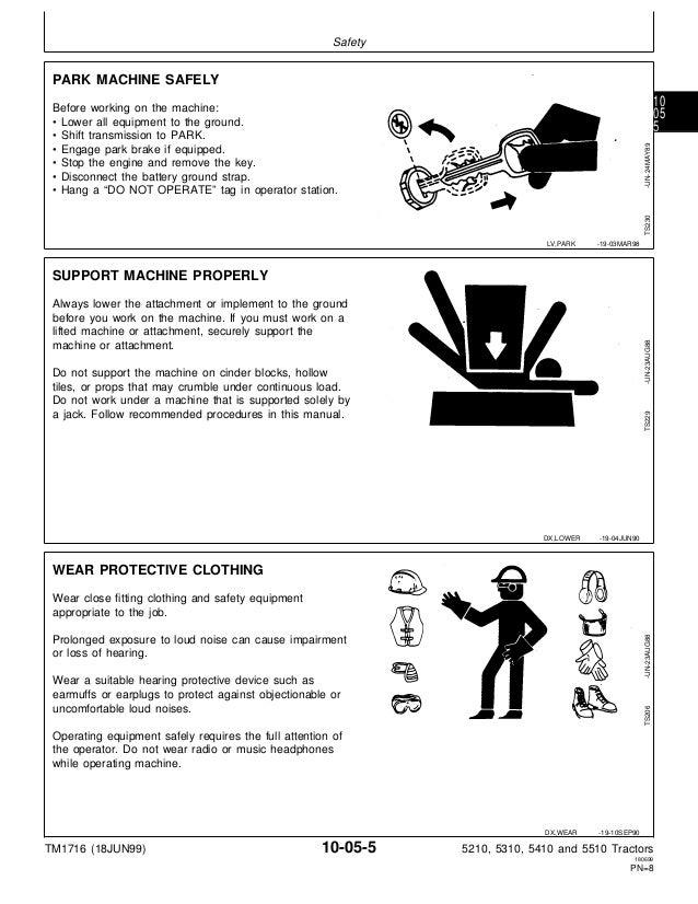 john deere 5410 repair manual