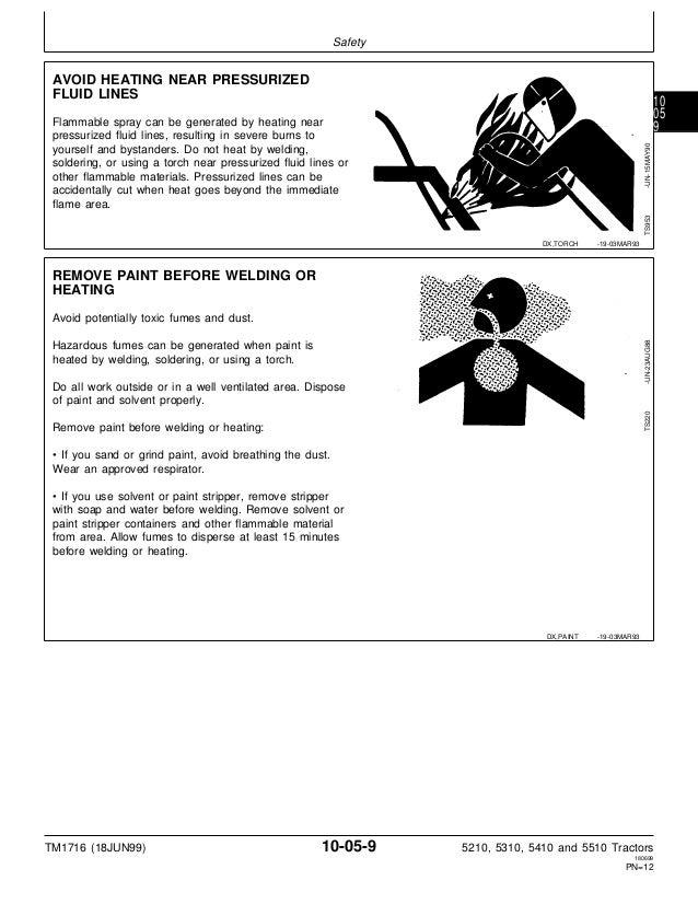 john deere 5410 service manual