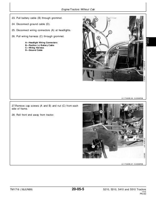 JOHN DEERE 5410 TRACTOR Service Repair Manual