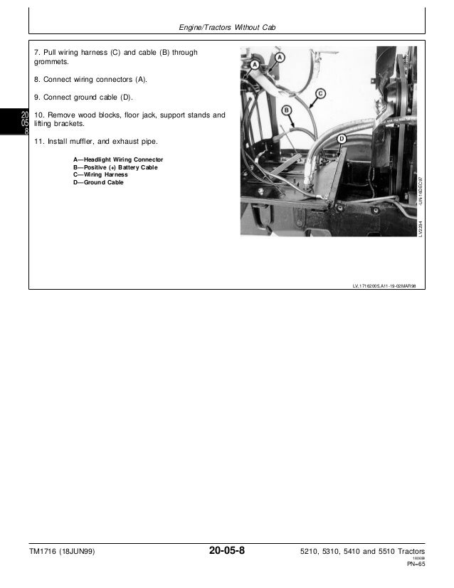 john deere 5410 tractor service repair manual rh slideshare net john deere 5410 electrical diagram