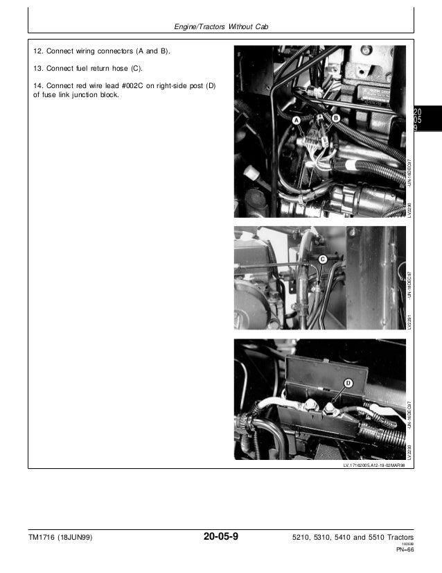 JOHN DEERE 5410 TRACTOR Service Repair Manual on john deere solenoid wiring diagram, john deere b wiring, john deere generator wiring, speedex tractor wiring, john deere skidder wiring, snapper riding mower wiring, peg perego tractor wiring, fiat tractor wiring, john deere electronic ignition conversion, john deere 140 wiring, john deere ignition wiring diagram, john deere lx173 wiring, john deere 112 wiring, john deere 210 wiring, same tractor wiring, john deere excavator wiring, john deere 420 wiring, john deere 1020 wiring harness, wheel horse tractor wiring,