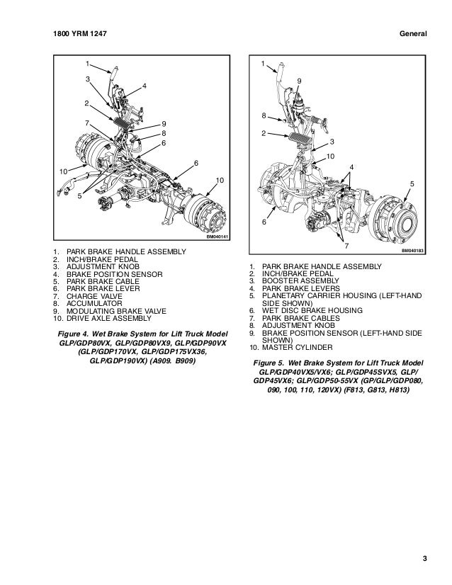YALE E878 GLP60VX LIFT TRUCK Service Repair Manual