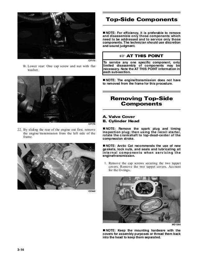 arctic cat 2007 500 automatic transmission service manual
