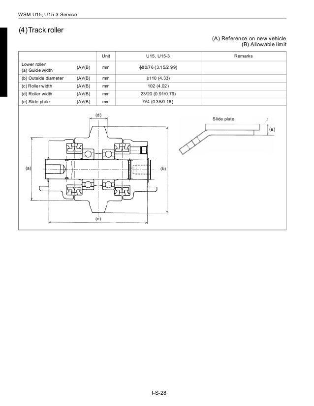 Kubota U15 Micro Excavator Service Repair Manual