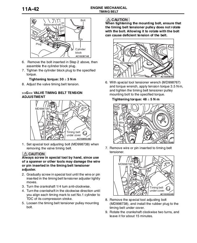 2008 MITSUBISHI AIRTREK Service Repair Manual