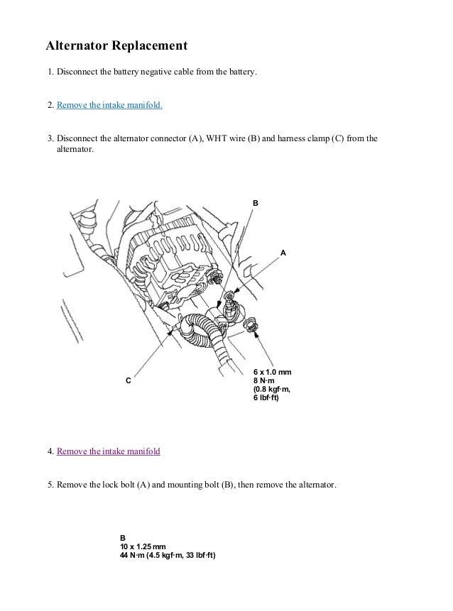 2004 honda fit jazz service repair manualHonda Fit Alternator Wiring Diagram #6