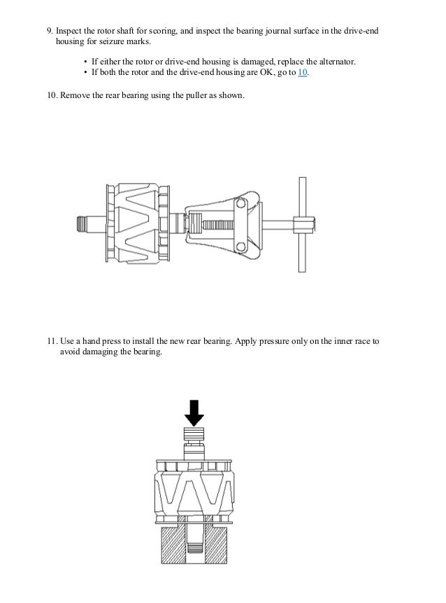 Honda Fit Alternator Wiring Diagram - All Diagram Schematics on