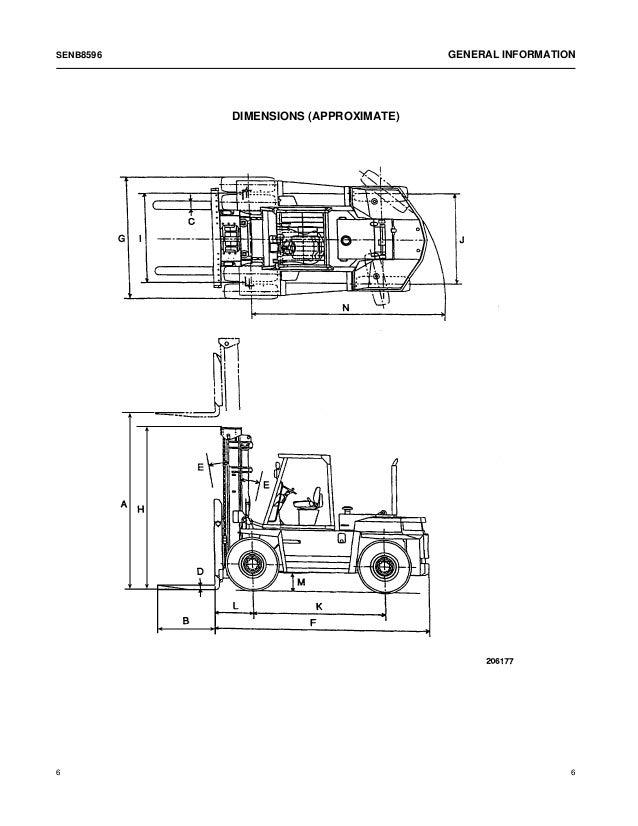 CATERPILLAR CAT DP150 FORKLIFT LIFT TRUCKS Service Repair