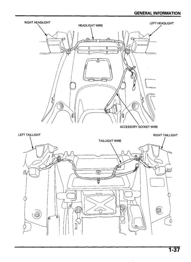 2005 Honda TRX500TM FourTrax Foreman Service Repair Manual