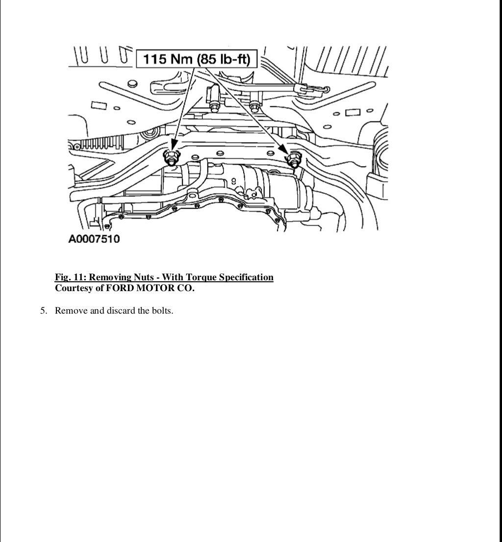 2006 FORD TAURUS Service Repair Manual