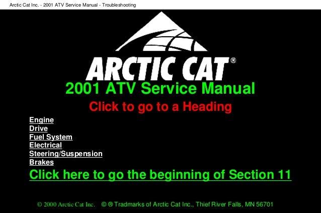 [ANLQ_8698]  2001 Arctic Cat 500 4x4 Automatic ATV Service Repair Manual | Arctic Cat 500 Atv Wiring Schematic For |  | SlideShare
