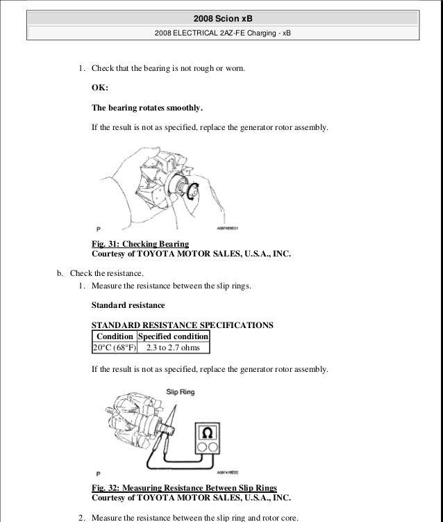 2008 scion xd repair manual