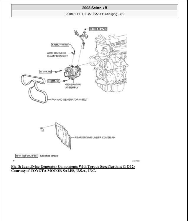 30 2005 Scion Xb Parts Diagram
