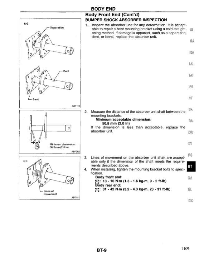 nissan quest 1998 service repair manual rh slideshare net 98 Nissan Quest Engine 98 Nissan Quest Engine