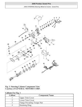 2008 pontiac grand prix repair manual