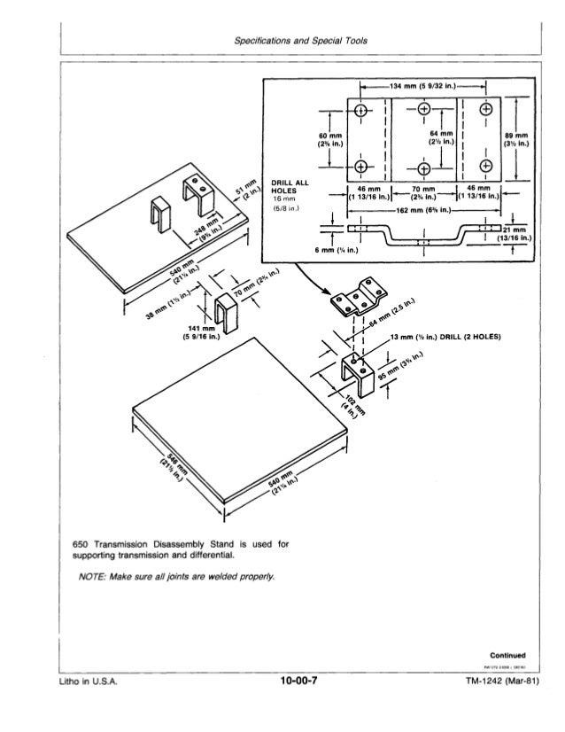 JOHN DEERE 750 TRACTOR Service Repair Manual