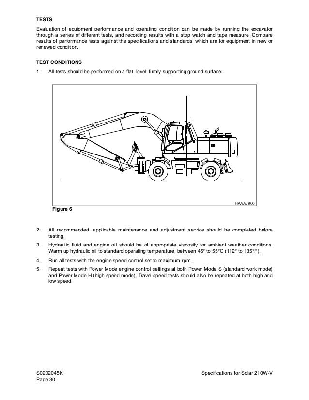 daewoo doosan solar 210w v wheel excavator service repair manual sn:1 cat excavator wiring diagrams daewoo excavator wiring diagrams #30