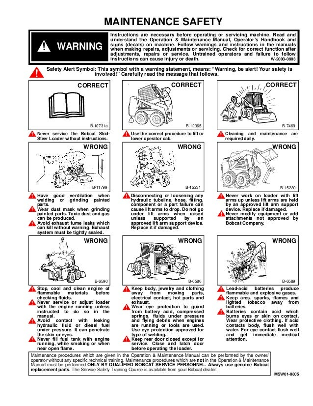 BOBCAT 853 SKID STEER LOADER Service Repair Manual S/N